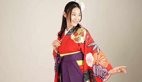 卒業式用袴・袴帯レンタル